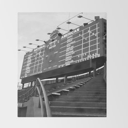 Wrigley Field Throw Blanket
