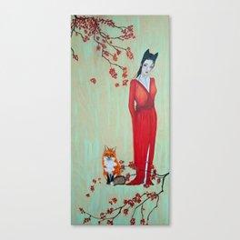 Kitsun Canvas Print