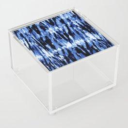 Blue Shibori Z Acrylic Box