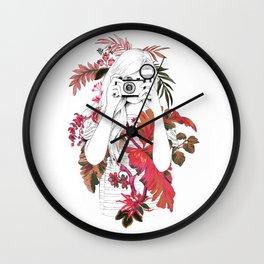 tropical photo Wall Clock