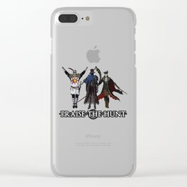 Praise the Hunt Clear iPhone Case