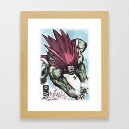 Blanka Framed Art Print