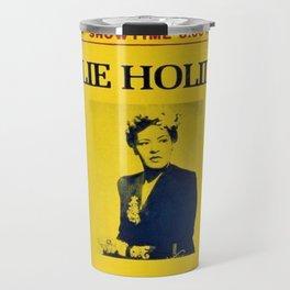 1944 Billie Holiday Concert Poster Apollo Theater Travel Mug