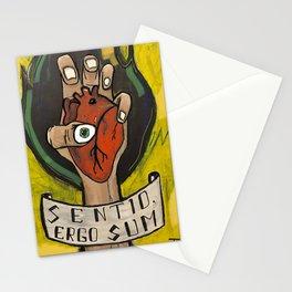 Sentido, ergo sum Stationery Cards