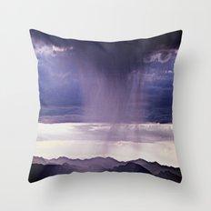 Summer Showers Throw Pillow