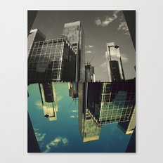 Canary Wharf - Poster, Art Print, Framed Art Print and Canvas  Canvas Print