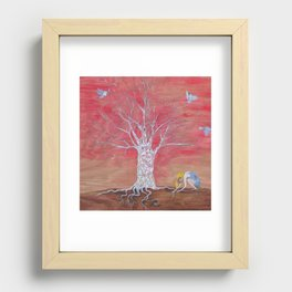 And then the uplifting. Recessed Framed Print