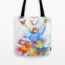 The Butterfly Deva Tote Bag