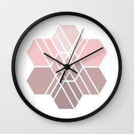 Hex-a-daisy Wall Clock