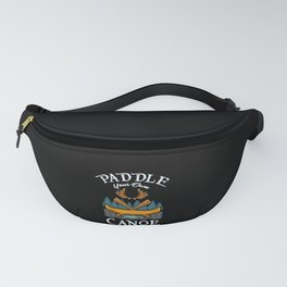 Canoeing Fanny Pack