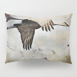 Sand Hill Cranes Pillow Sham