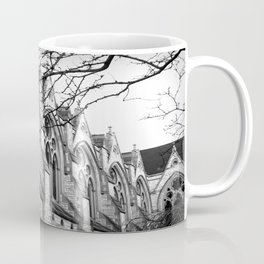 B&W Church Photography Coffee Mug