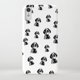 CHRISTMAS GIFTS FOR THE GERMAN POINTER SHORTHAIRED DOG LOVER,GIFTS FROM MONOFACES FOR ALL IN 2020 iPhone Case