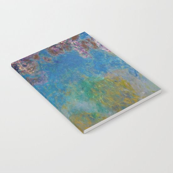 Wisteria by Claude Monet Notebook