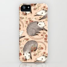 Opossum and Roses iPhone (5, 5s) Slim Case