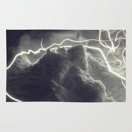 Electric Light Snowrchestra Rug