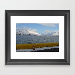 Gnome in Akureyri Framed Art Print