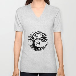 Pentacle Tree Unisex V-Neck