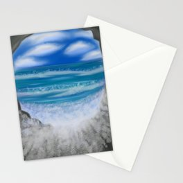 Cave of Waves Stationery Cards