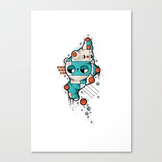 Muscle cat Canvas Print