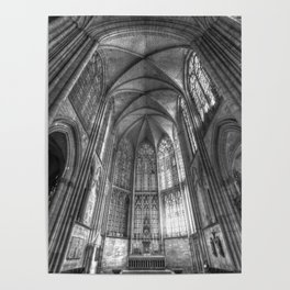Troyes Cathedral France Poster