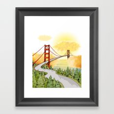 San Francisco Horizon Framed Art Print