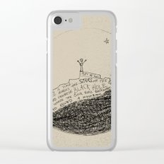 doodle - found a mushroom Clear iPhone Case