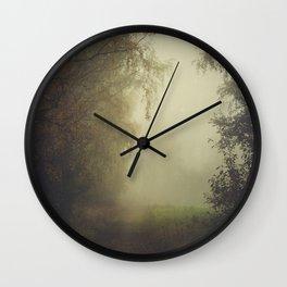 Unwritten poetry Wall Clock