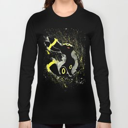 Umbreon Splash Silhouette Long Sleeve T-shirt