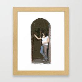 LadyLuck Framed Art Print