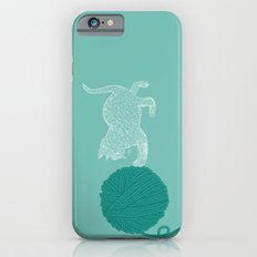 Cat Way to Yarn iPhone 6s Slim Case