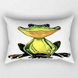 Jon Jade - The Cambodian Tree Frog Rectangular Pillow
