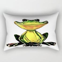 Jon Jade - The Cambodian Tree Frog Rectangular Pillow