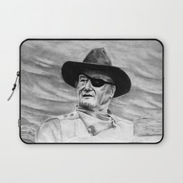 John Wayne Portrait Drawing Laptop Sleeve
