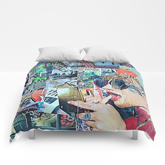 Lipstick Outlaw Comforters