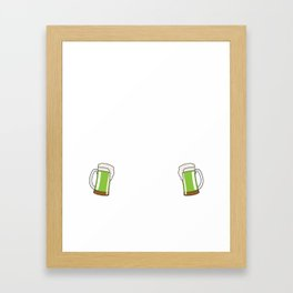 Official St. Patrick's Day Designated Drunk T-Shirt Framed Art Print