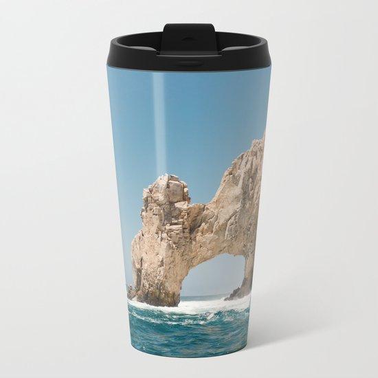 Arch of Cabo San Lucas IV Metal Travel Mug