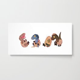 Raptor squad Metal Print