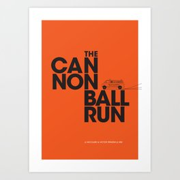 The Cannonball Run - Dodge Ambulance Art Print