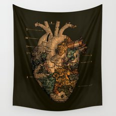 I'll Find You (Dark Brown) Wall Tapestry
