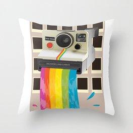 Magic Camera Throw Pillow