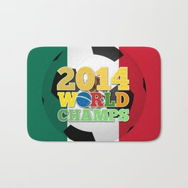 2014 World Champs Ball - Mexico Bath Mat