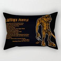 Autumn People 3 Rectangular Pillow