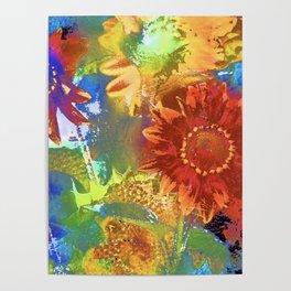 Sunflower 25 Poster