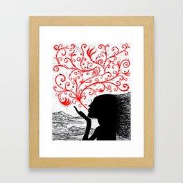 Breath of Beauty Framed Art Print
