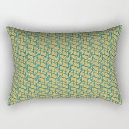 Bauhaus Prisms Rectangular Pillow