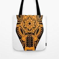 jaguar Tote Bags featuring jaguar by danta