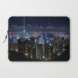 Hong Kong- Victoria Peak Laptop Sleeve