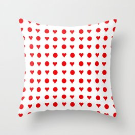 Flag of japan 4 Throw Pillow