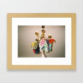 Underwear lamp Framed Art Print